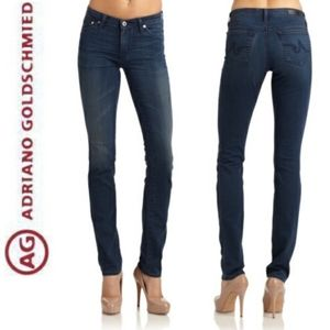 AG Adriano Goldschmied Jeans Agolde The Premiere Skinny Straight Blue